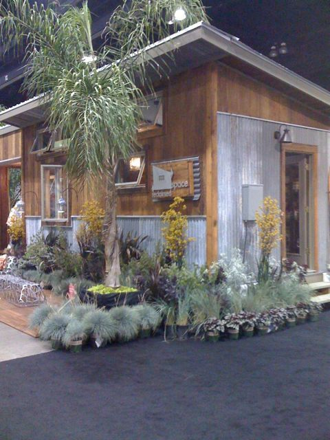 This tiny home was made of all reclaimed materials and sponsored in ...